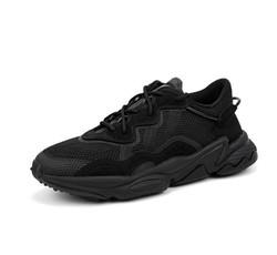 adidas 阿迪达斯 易烊千玺同款 OZWEEGO 三叶草黑武士 EE6999 中性款跑步鞋