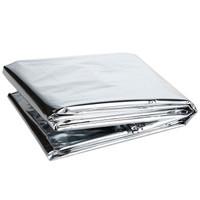 佳途(JOYTOUR)救生毯 鋁膜保溫毯戶外野營急救用品銀色(2件起售)