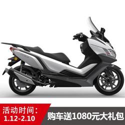 赛科龙RT3睿途尊享版国四电喷水冷发动机ABS大踏板摩托车 雪山白 尊享版 全款24500元
