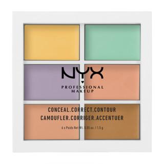 NYX  Professional Makeup  6色修容遮瑕盘 *2件