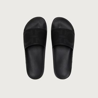 Salvatore Ferragamo/菲拉格慕 男士GANCINI凉鞋 741813(13、黑色/M)