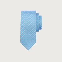 Salvatore Ferragamo/菲拉格慕 男士瓢蟲印花領帶 740210(藍色)