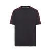 Prada/普拉达平纹针织T 恤(XL、黑 色)