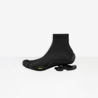 BALENCIAGA 巴黎世家 Toe Sock黑色男士短靴 36912W3BE11000