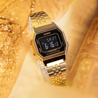 CASIO 卡西欧  LA680WGA-1BDF-JX 男女款石英手表