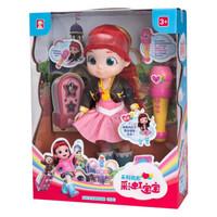 心寶玩具彩虹寶寶女孩露露會說話唱歌過家家兒童智能娃娃玩具生日禮物套裝 歌手露露套裝
