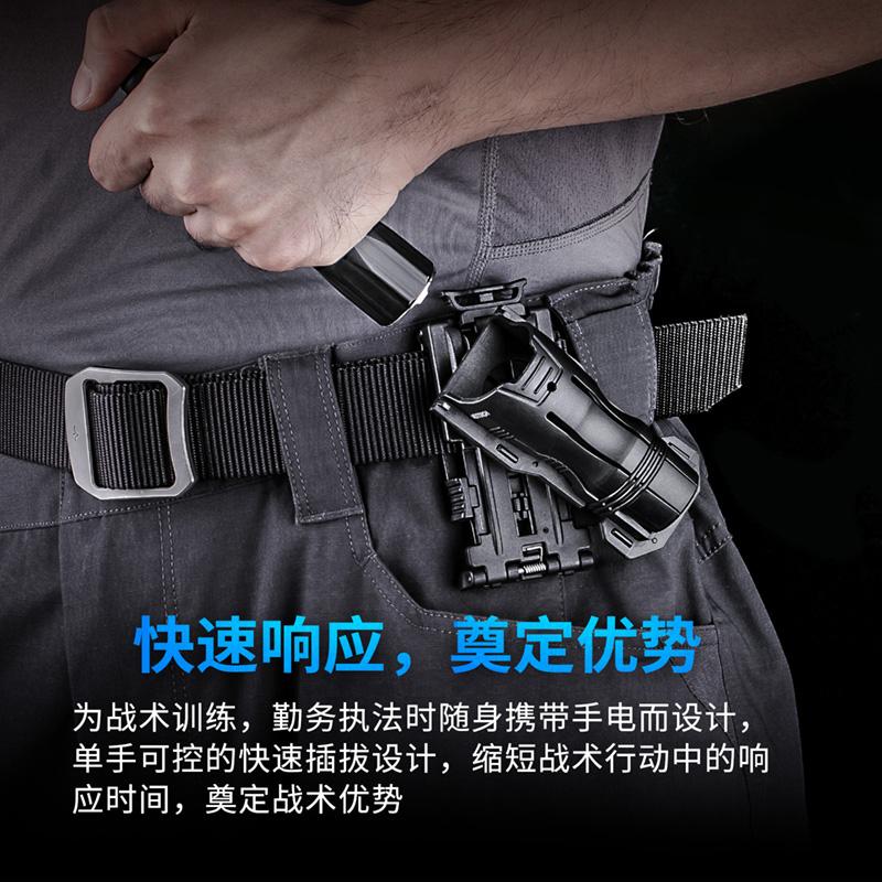 NEXTORCH纳丽德V61战术快拔电筒套360度旋转通用手电腰套可锁定