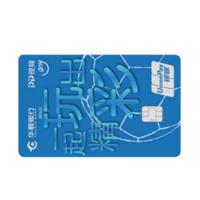 HUAXIA BANK 华夏银行 PP视频联名系列 信用卡金卡