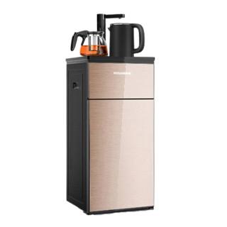 MELING 美菱 美菱饮水机家用全自动高端立式下置水桶多功能泡茶冷热智能茶吧机