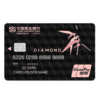 CMBC 民生银行 尊爵钻石系列 信用卡钻石卡 钛合金版