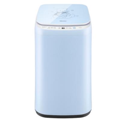 Hisense 海信 HB30DF642 定频 波轮迷你洗衣机 3kg 蓝色