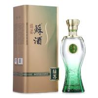 双沟 苏酒 绿苏 52%vol 浓香型白酒 480ml 单瓶装