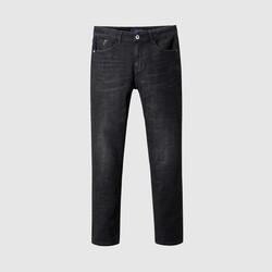 HLA 海澜之家  HKNAD3Q126AC6 男士高腰款牛仔裤