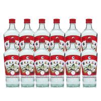 GUILIN SANHUA 桂林三花 玻瓶 52%vol 米香型白酒 480ml*12瓶 整箱装