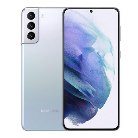 SAMSUNG 三星 Galaxy S21  5G手机 幻境银 8GB 256GB