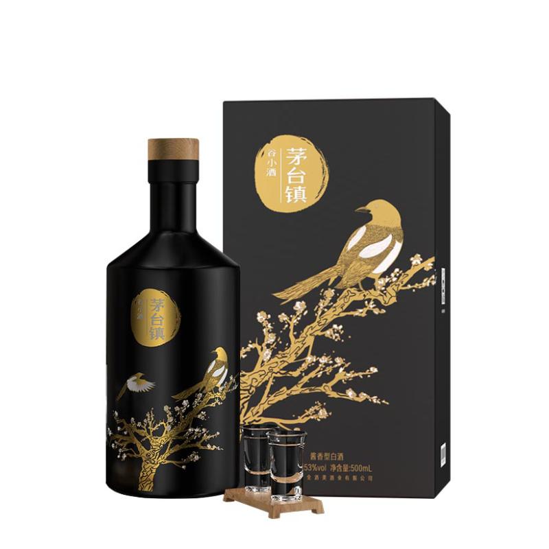 谷小酒 茅台镇 53%vol 酱香型白酒 500ml 单瓶装