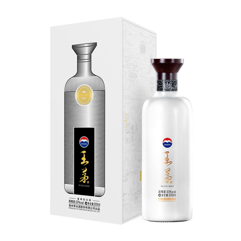 MOUTAI 茅台 王茅系列 祥邦 53%vol 酱香型白酒 500ml 单瓶装