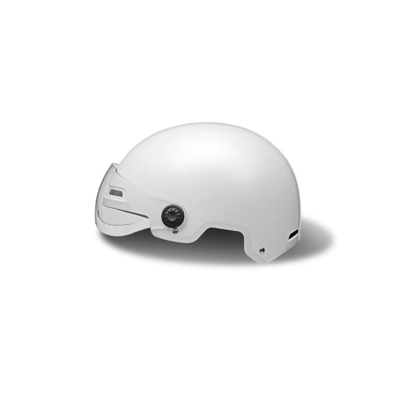 Yadea 雅迪 ML-081M GB 中性骑行头盔 1000020 黑白色