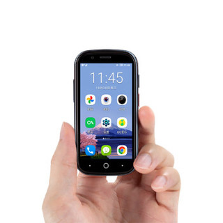 Unihertz Jelly 2 双卡双待3.0英寸迷你手机4G全网通 墨绿 6GB+128GB