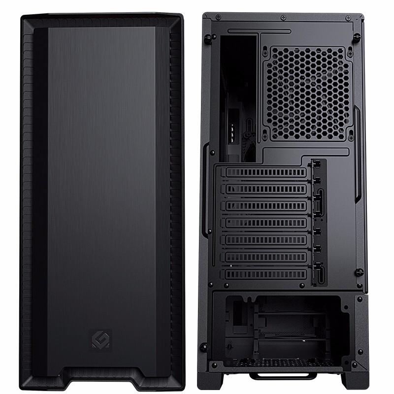PHANTEKS 追风者 520S RGB ATX机箱 玻璃侧透 黑色