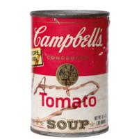 HOWstore Andy Warhol 安迪沃霍爾 簽名 金寶番茄湯罐頭
