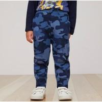 Gap 盖璞 儿童纯棉迷彩运动裤