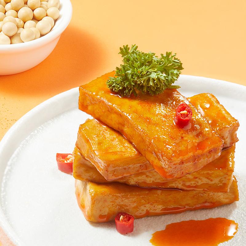 JINZAI 劲仔 厚豆干40包好吃的麻辣零食豆腐干小吃休闲小零食吃货食品