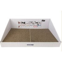 DEKU 得酷 彩盒猫抓板 45*30*15*5cm