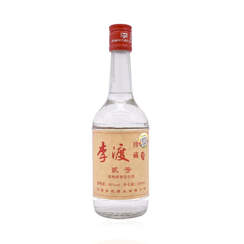 李渡 珍藏 贰号 45%vol 兼香型白酒 500ml 单瓶装