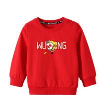 YUZHAOLIN 俞兆林 大闹天宫系列 男童卫衣 大红 120cm