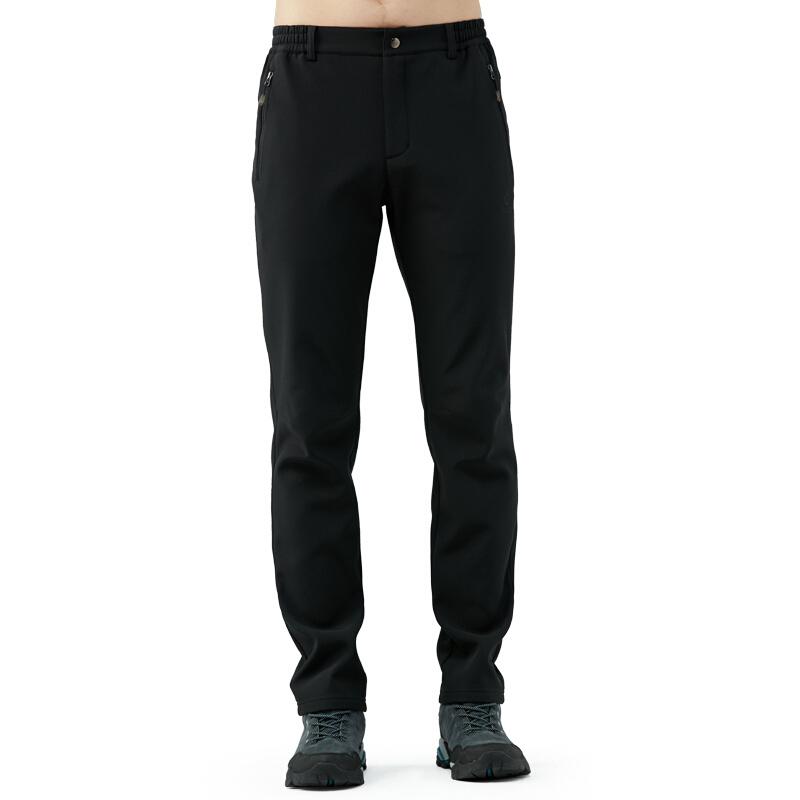 TECTOP 探拓 男子软壳裤 PW7609 黑色 XXL