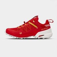 SALOMON 萨洛蒙 Trail Running系列 牛年限定款 中性越野跑鞋 L41517600 红色 44.5