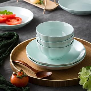 尚行知是 南瓜系列 青瓷餐具 18件套 青