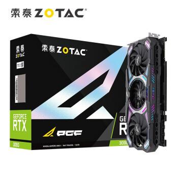索泰(ZOTAC)RTX3090 PGF OC显卡/N卡/台式机/游戏/电竞/网课/绘图/设计/独立显卡/24G-D6X显存