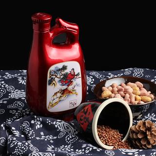 景芝 景阳春 老虎王 52%vol 浓香型白酒 500ml*6瓶 整箱装