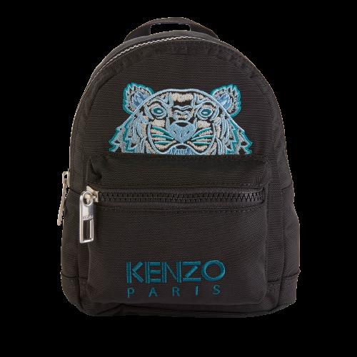KENZO Kampus系列 女士帆布双肩背包 黑色