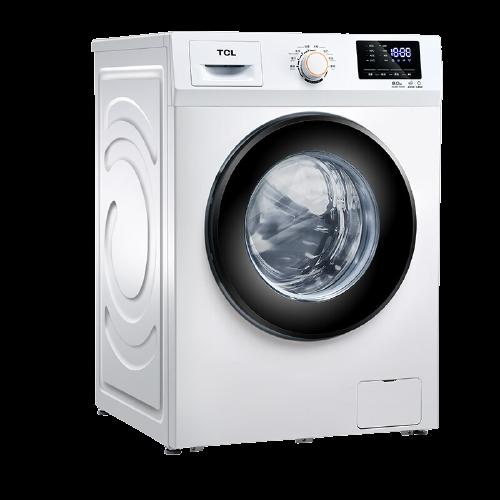 TCL XQG80-P300B 滚筒洗衣机 8kg 白色