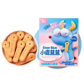 小鹿蓝蓝 高钙磨牙棒饼干 144g