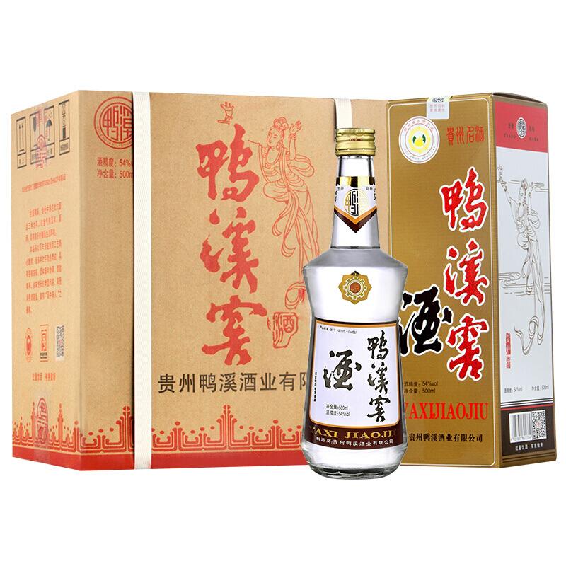 鸭溪窖 鸭溪窖系列 54%vol 浓香型白酒