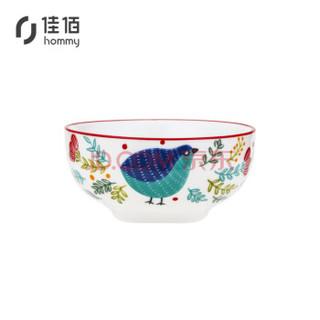京东PLUS会员 : 佳佰 美式陶瓷碗 4.5寸*4个装 *3件