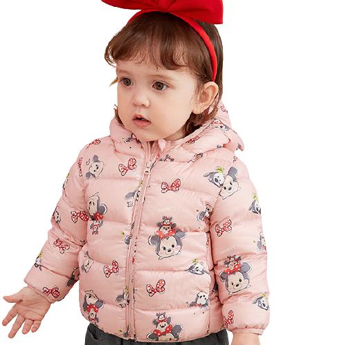 Mini Balabala 迷你巴拉巴拉 0366 兒童羽絨服 松松IP款 紅色調 100cm