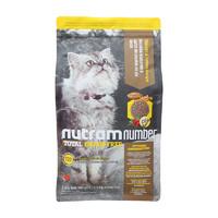 nutram 纽顿 无谷低升糖系列 T22去骨鸡肉火鸡肉全阶段猫粮