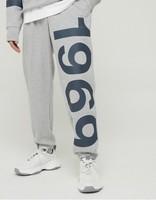 Gap 盖璞 979651 男士法式圈织软休闲裤