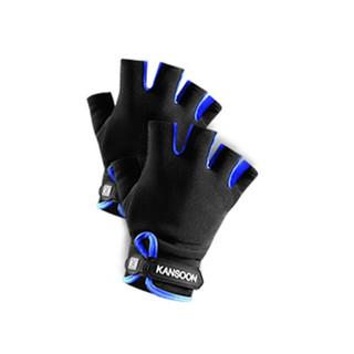 KANSOON 凯速  半指运动手套 蓝色