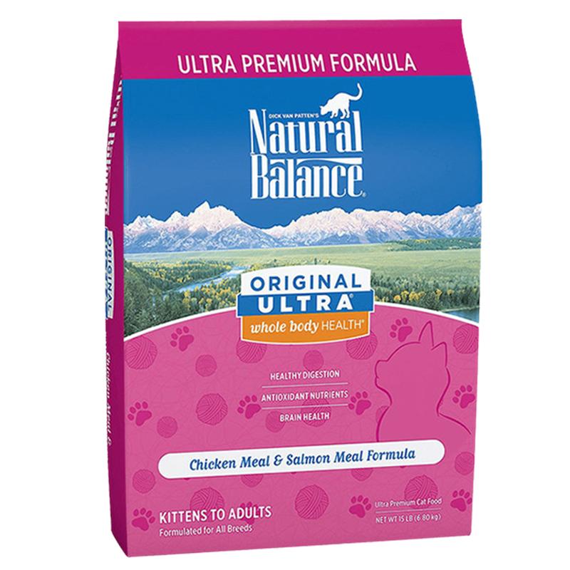 20点开始、有券的上、临期品 : Natural Balance 天衡宝 健乐系列 鸡肉三文鱼全阶段猫粮 6.8kg