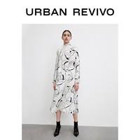 URBAN REVIVO WG06S7AN2003 印花连衣裙