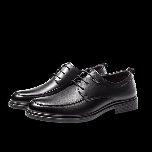 AOKANG 奥康 男士商务正装德比鞋 N103211102 黑色 42
