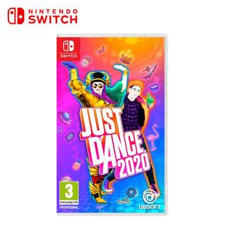 现货全新正版 switch体感游戏 舞力全开2020 ns实体中文游戏卡 Just Dance 2020 支持双人