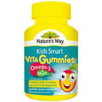 京东PLUS会员:Nature's Way 佳思敏 omega3+复合维生素软糖 50粒 *2件