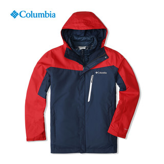 Columbia 哥伦比亚 WE1155 男款三合一冲锋衣+AE0259 抓绒衣